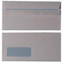 DL White Window Envelopes
