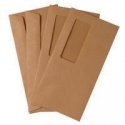 DL Manilla Window Envelopes