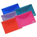 A5 Plastic Wallets
