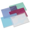 Rexel Carry Folder Polypropylene A4 Translucent Assorted Ref 16129AS [Pack 5]
