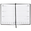 5 Star 2014 Diary Week to View Full Week on Two Pages 70gsm W210xH297mm A4 Black