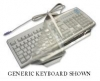 Genius KU-0138e Fitted Moulded Keyboard Cover - Antimicrobial
