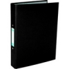 Elba Ring Binder Paper On Board 2 O-Ring 25mm Size A4 Plus Black Ref 400033495