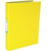 Elba Ring Binder Paper On Board 2 O-Ring 25mm Size A4 Plus Yellow Ref 400033499