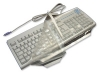Geemarc KBS-YEL Fitted Moulded Keyboard Cover - Antimicrobial