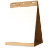 Bi-Office Flipchart Easel Tabletop Pad Self Stick 635x762mm Ref FL1217507 [Pack 2]