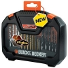 Black & Decker Drilling and Screwdriver Mixed Accessory Set Ref A7183 [Set 30]