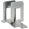 5 Star Large Bookends Metal Silver [Pack 2]
