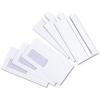 5 Star Envelope Press Seal Window Wallet DL White [Pack 1000]