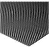 COBA Cobarib Standing Surface Mat Hard-wearing Rubber Ribbed W900xD2500xH3mm Black Ref RR010925