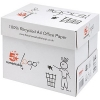 5 Star 100 Percent Recycled Copier Paper Multifunctional Ream-Wrapped 80gsm A4 White [5 x 500 Sheets]
