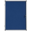 5 Star Noticeboard Glazed Aluminium 1200x900mm