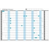 Sasco 2018 Wall Planner Mounted Ref 2401799-2018