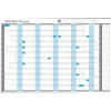 Sasco 2018 Wall Planner Unmounted Ref 2401800-2018