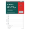 Collins 2018 Desk Diary Refill Day a Page Ref DK1100-18
