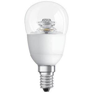 GE Bulb LED Globe 6W 40W Equivalent SES Clear Ref 84555