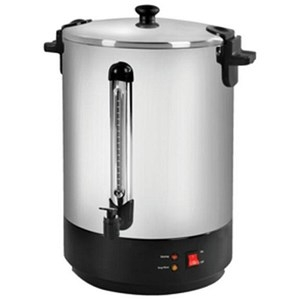 5 Star Catering Urn Locking Lid Boil Dry Overheat Protection 2500W 30 Litre