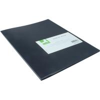A4 Polypropylene Display Book 10 Pocket Black