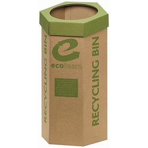 5 Star Recycling Bin Cardboard [Pack 3]