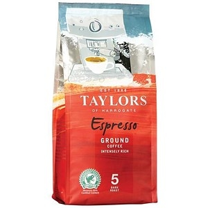 Taylors of Harrogate Espresso Coffee Ground 227g Ref 4017743