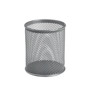 Pencil Holder Wire Mesh Silver Ref 30094