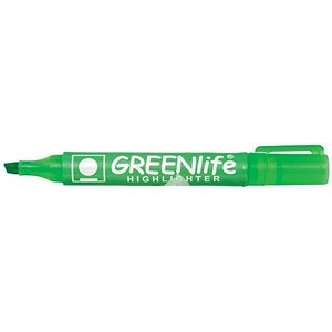5 Star Eco Highlighter Green [Pack 10]