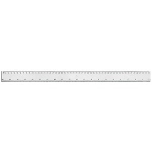 5 Star Shatter Resistant Ruler 450mm [Pack 24]