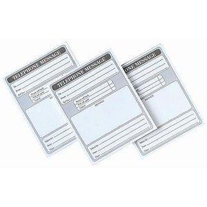 5 Star Telephone Message Pad 160pp 127x102mm [Pack 10]