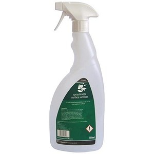 5 Star Facilities Empty Bottle for Concentrated Surface Sanitiser 750ml