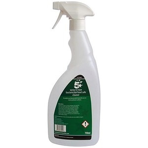 5 Star Facilities Empty Bottle for Concentrated Bactericidal Food Safe Cleaner 750ml
