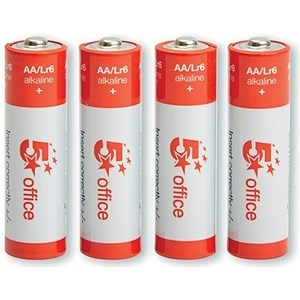 5 Star Batteries AA [Pack 4]