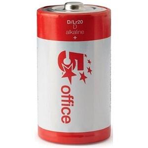 5 Star Batteries D / LR20 [Pack 12]