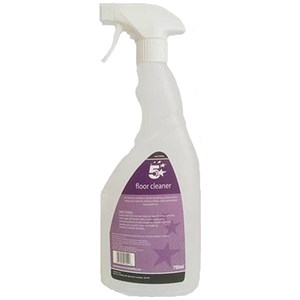 5 Star Facilities Empty Bottle for Concentrated Floor Cleaner Lemon 750ml