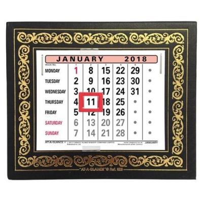 At A Glance 2018 Desk Calendar Ref 825 2018