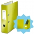Leitz WOW Lever Arch File A4 Green [FREE Magazine File and Notebook]