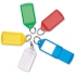 Key Hanger Sliding with Fob Label Area 55x30mm Tag Size Large 75x37mm Assorted [Pack 10]