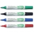 Ecolabel Drywipe Marker with Recycled Paper Barrel Bullet Tip Line 1.5mm Assorted Ref 268871 [Wallet 4]