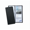 5 Star Classic Business Card Holder PVC 64 Pockets for 128 Cards 280x110mm Black