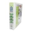 Elba Panorama Presentation Ring Binder PVC 4 D-Ring 40mm Capacity A4 White Ref 400001300 [Pack 10]