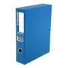 Rexel Colorado Box File with Lock Spring 70mm Spine A4 Blue Ref 30443EAST [Pack 5]
