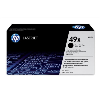 Hewlett Packard [HP] No. 49X Laser Toner Cartridge Page Life 6000pp Black Ref Q5949X
