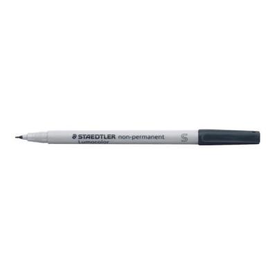 Staedtler 311 Lumocolor Pen Non-permanent Superfine 0.4mm Line Black Ref 311-9 [Pack 10]