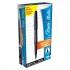 Paper Mate Fine Line Marker Nylon 1.1mm Tip 0.8mm Line Black Ref S0190973 [Pack 12]