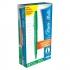 Paper Mate Fine Line Marker Nylon 1.1mm Tip 0.8mm Line Green Ref S0191033 [Pack 12]