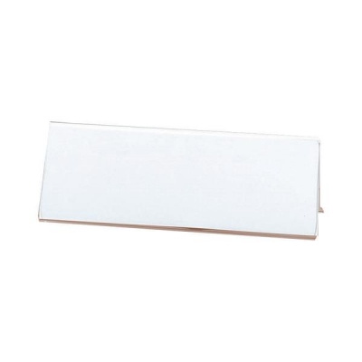 Seminar Sign Holder Tent Shaped A4 Clear
