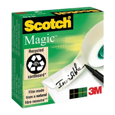 Scotch Magic Tape 12mmx66m Matt Ref 8101266 [Pack 2]