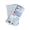 Rexel Optima Refill Pockets for Business Card Book Ring Binder Ref 2101192 [Pack 10]