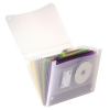 Elba Expanding File Coloured Polypropylene 13 Pockets A4 Ref 100208980