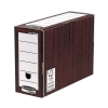 Bankers Box by Fellowes Premium Transfer File Woodgrain Ref 00053-FF [Pack 10]
