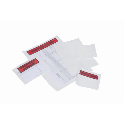 Packing List Envelopes Polythene A6 Documents Enclosed 158x110mm [Pack 1000]
